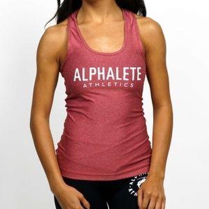Alphalete Red Tank Top